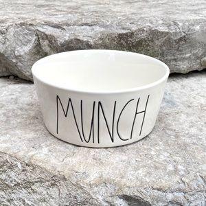 Rae Dunn MUNCH Pet Bowl